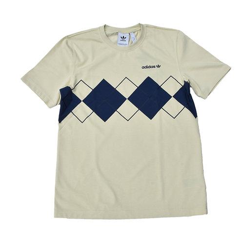 Adidas Argyle T-shirt Sand