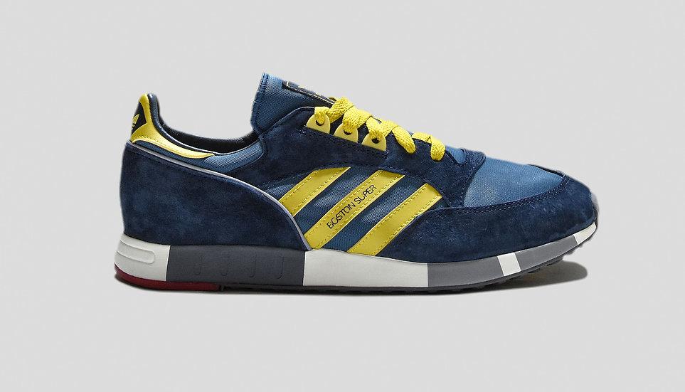 Adidas Boston Super Navy/Yellow