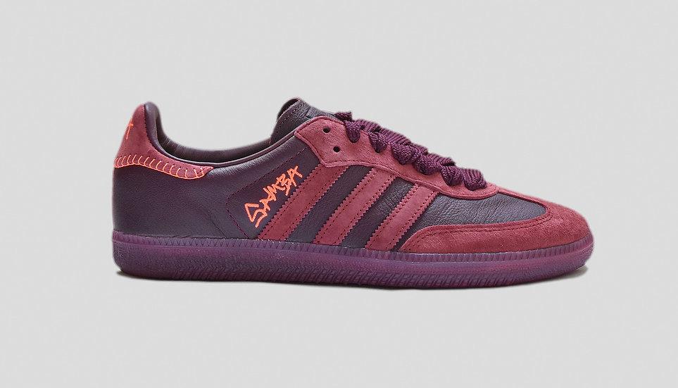 Adidas Samba X Jonah Hill Maroon