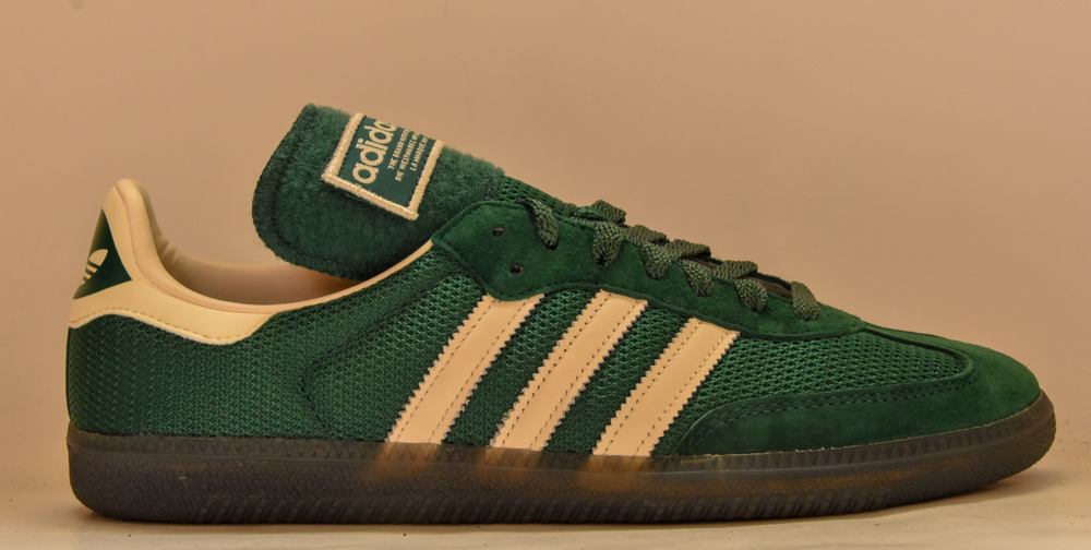 outlet store sale purchase cheap popular stores Police inspired trainers!? Green Samba LT make an entrance.