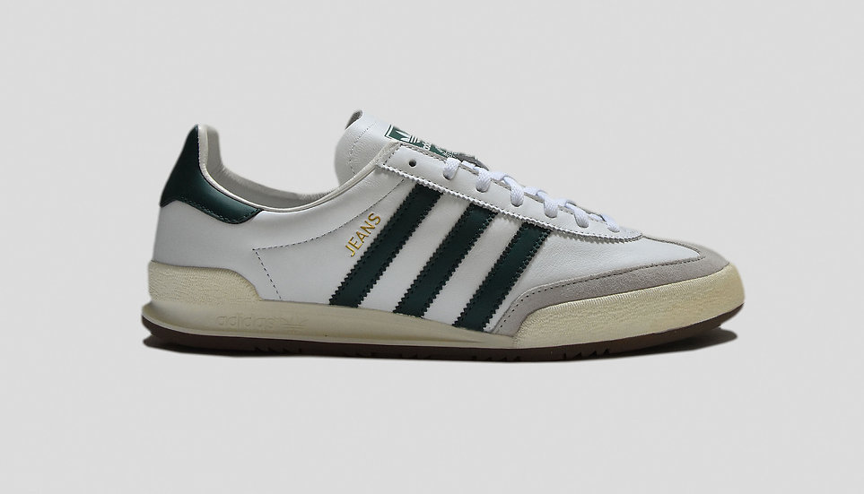 Adidas Jeans MKII White/Green