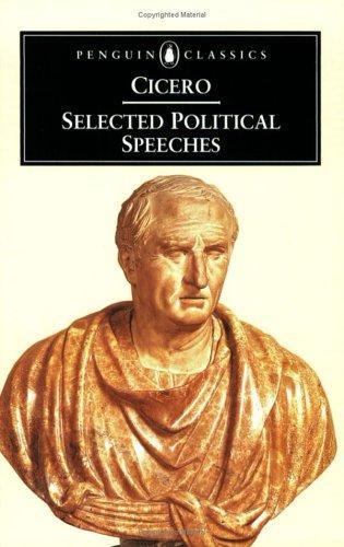 Cicero—Selected Political Speeches