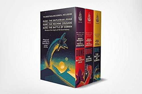 Brian Herbert, Kevin J. Anderson—Dune Boxed Set #1 (2019): The Butlerian Jihad,