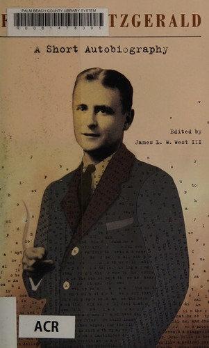 F. Scott Fitzgerald—A short autobiography