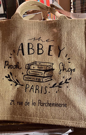 Abbey Bookshop Bookbag