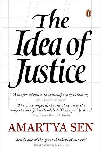 Amartya Sen—The Idea Of Justice