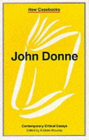 Andrew Mousley—John Donne