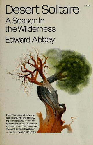 Edward Abbey—Desert Solitaire