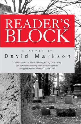 David Markson—Reader's Block