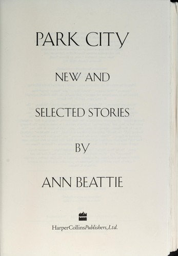 Ann Beatie—Park City