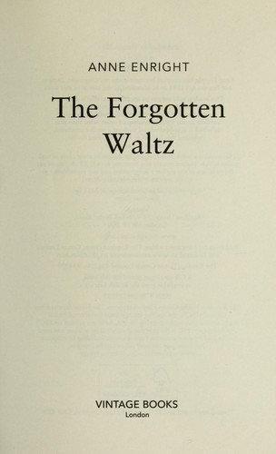 Anne Enright—The Forgotten Waltz