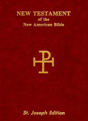 Catholic Book Publishing Corp—The New American Bible - New Testament, Saint Jos