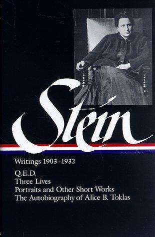 Gertrude Stein, Catharine R. Stimpson—Writings, 1903-1932
