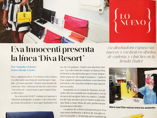 Featured in Revista Mujeres