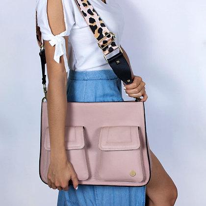Keley Crossbody Bag - Baby Pink