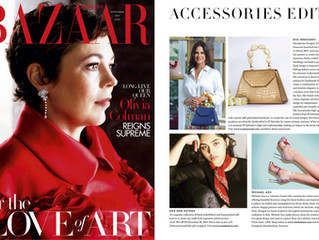 Eva Innocenti featured in Harper's Bazar - November 2019!