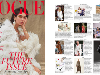 Eva Innocenti featured in British Vogue!