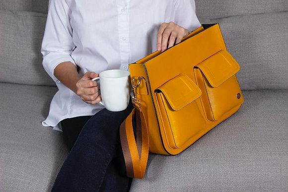 Keley Crossbody Bag - Yellow Gold