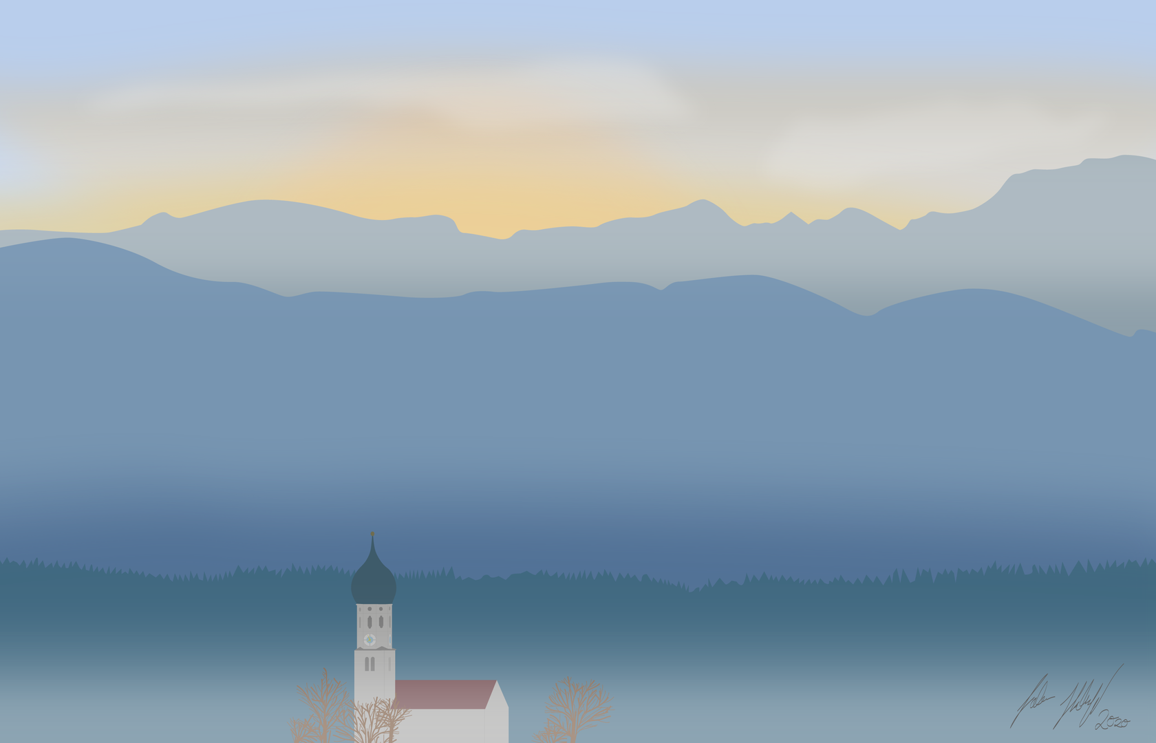 Illustration nach Originalaufnahme