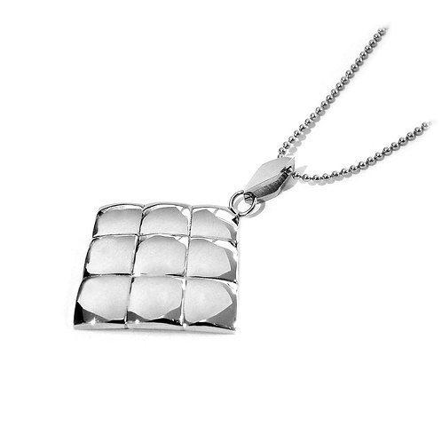 Stainless Steel Square Pendant