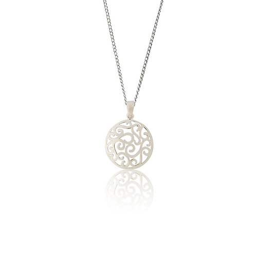 Sterling Silver Ajour Pendant
