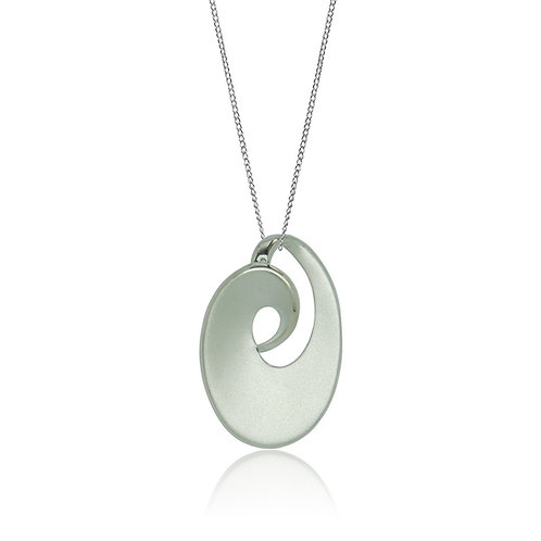 Sterling Silver Curl Pendant