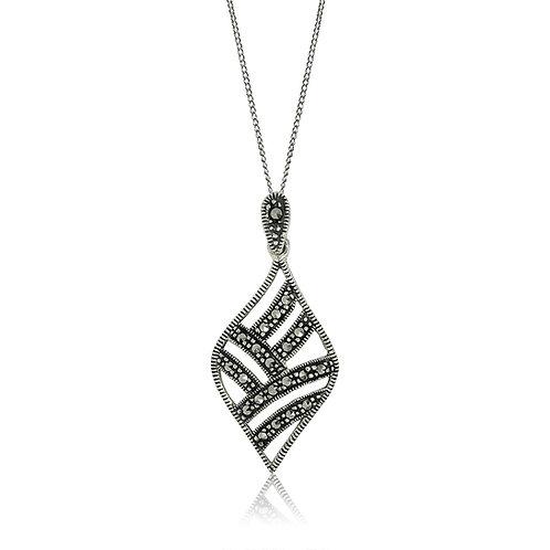 Silver Marcasite Pendant