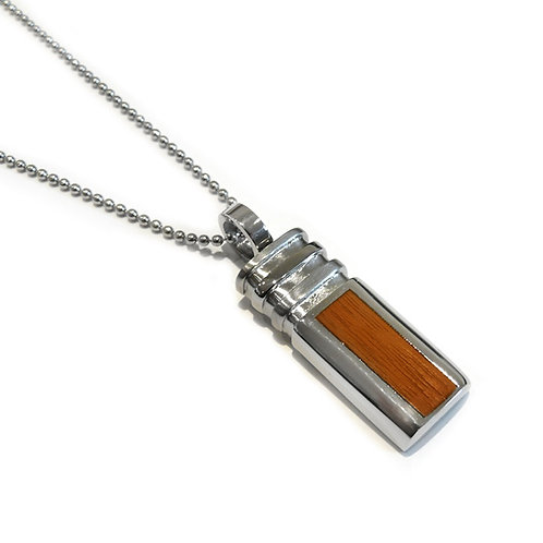 Stainless Steel Sandalwood Pendant