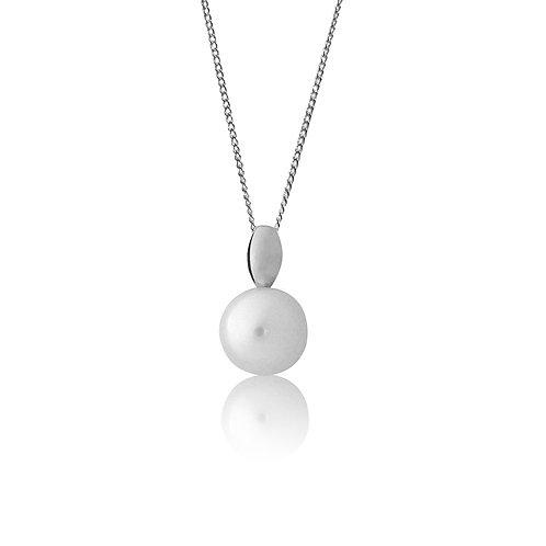 Sterling Silver Single Fresh Water Pearl Pendant