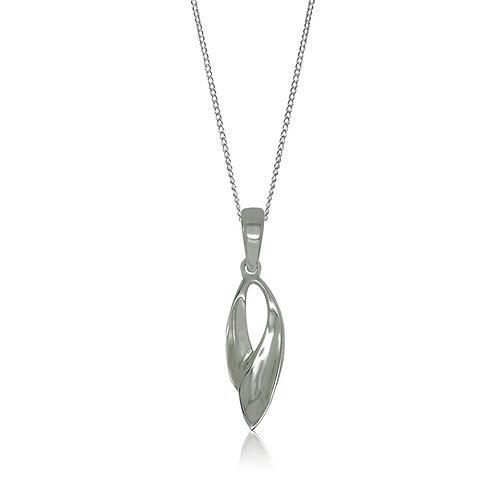 Sterling Silver Modern Design Pendant