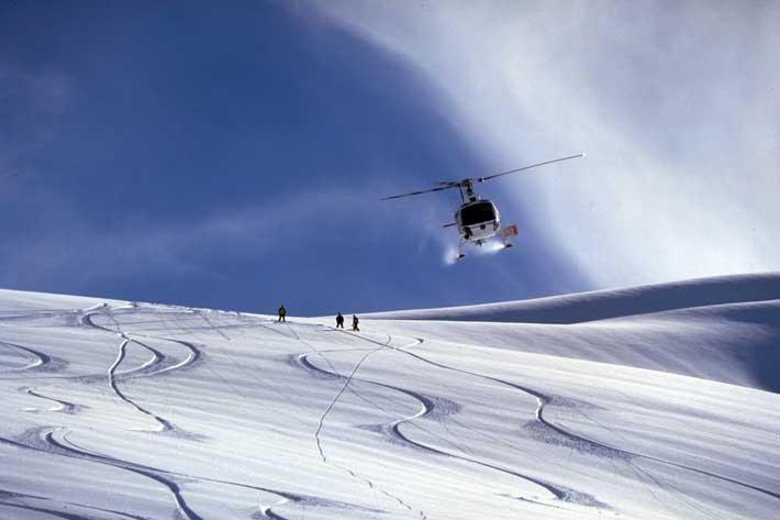 heli-ski-tours