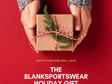 Checkpoint one Holiday gift guide - blank sportswear