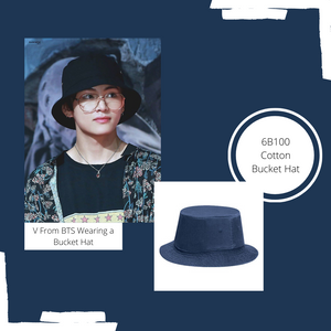 V from BTS in a Bucket Hat