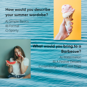 Summer Style Quiz Questions