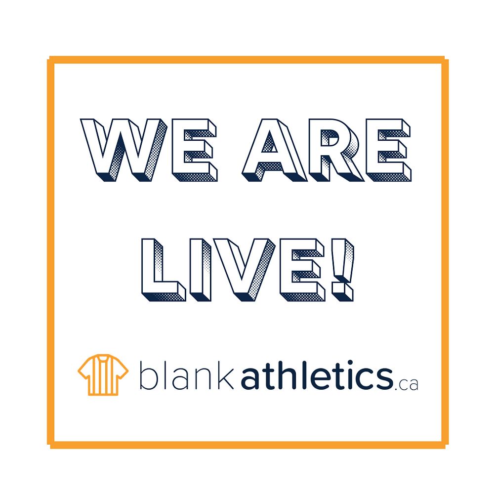 Blankathletics.ca is now live!