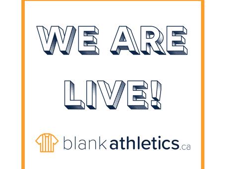 say hello to blank athletics