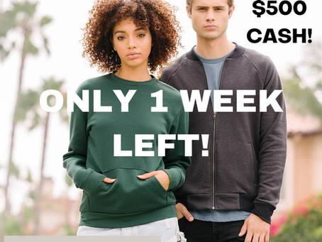 Only 1 week left to enter our basics challenge