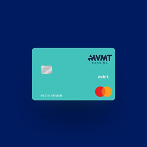 MVMT Banking Sea Green Card