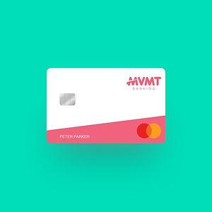 MVMT Banking White Card