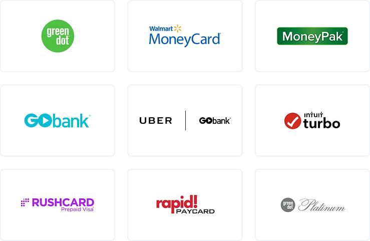 Green Dot Email Logos