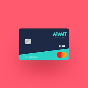 MVMT Banking Dark Blue Card