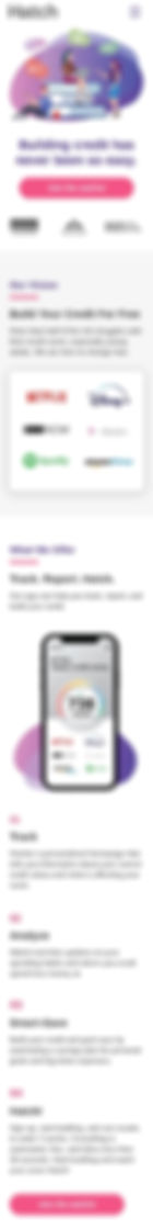 Hatch Mobile Homepage 1