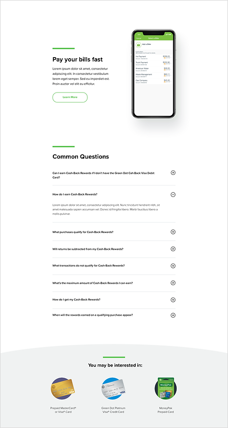 Green Dot Product Page 2