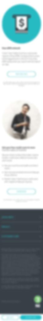 Turbo Debit Mobile Homepage 2