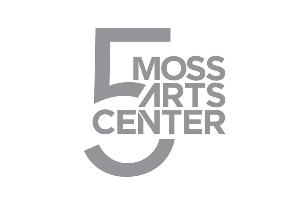 Moss Arts Center fifth year anniversary branding
