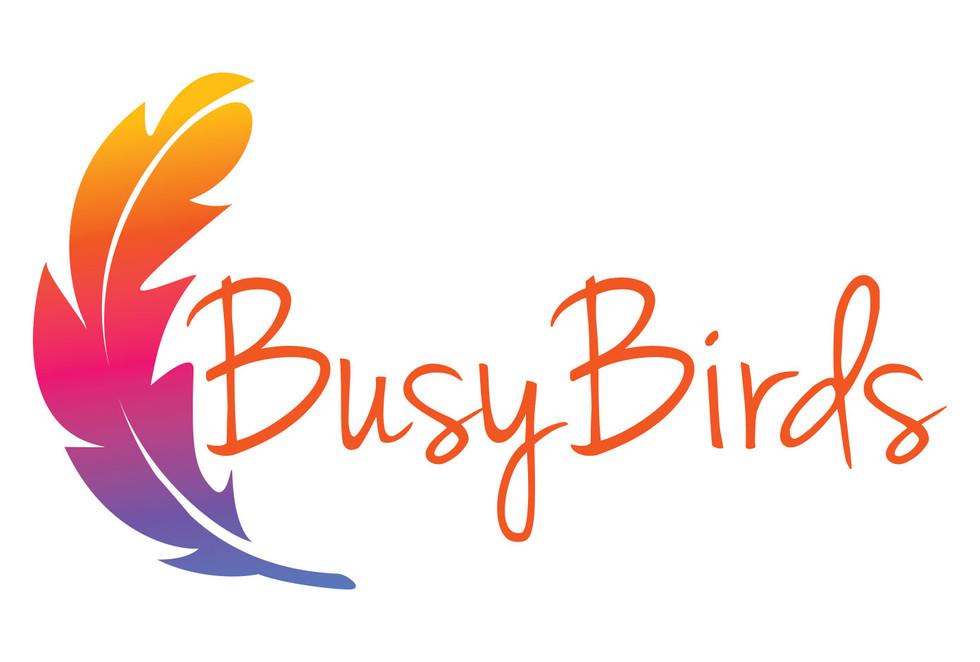 Busy Birds branding