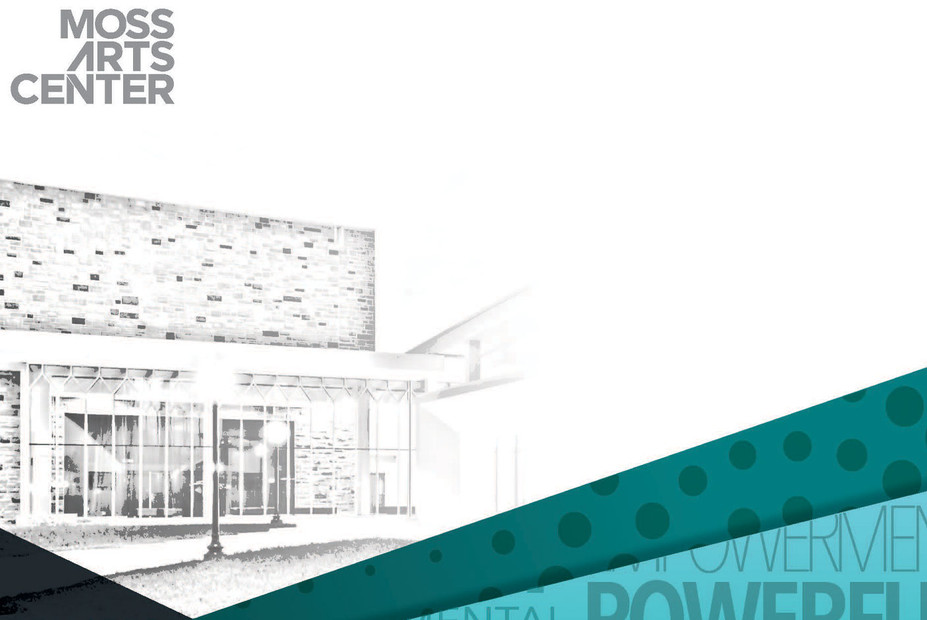 Moss Arts Center - printed season guide