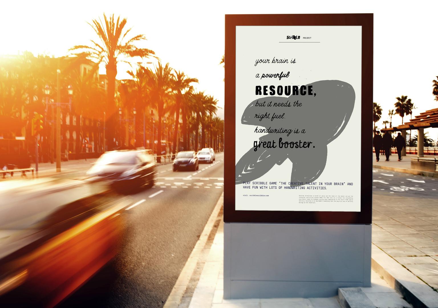 Free Outdoor Roadside Billboard MockUp P