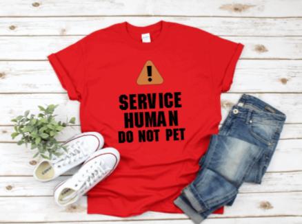 Service Human T-shirt