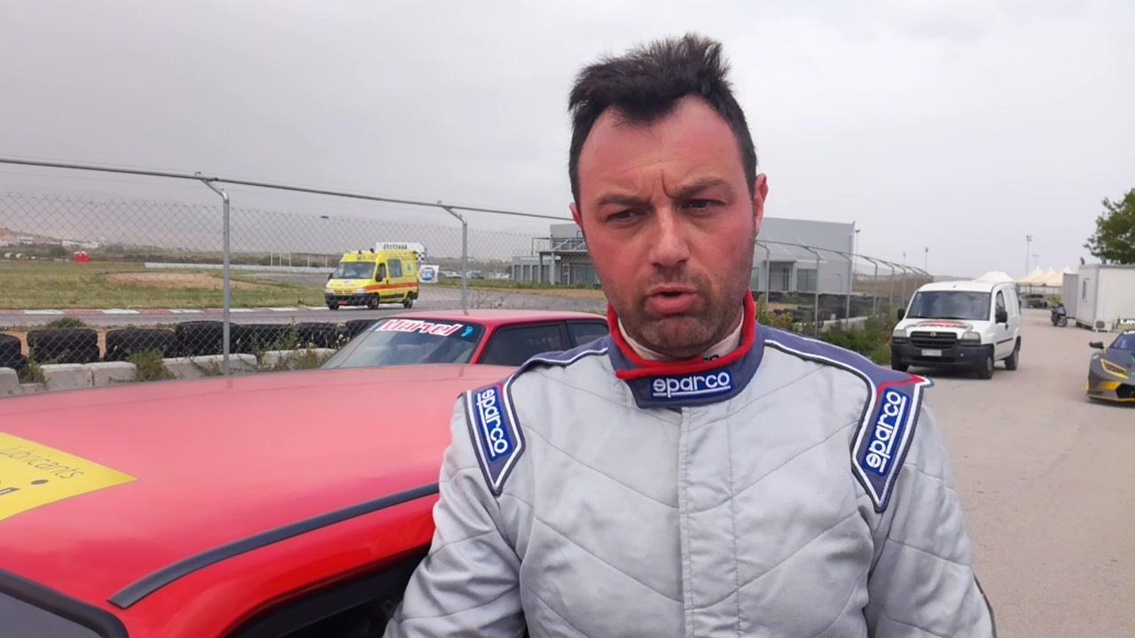 Οι δηλώσεις του νικητή της κατηγορίας Ε, Χρήστου Κύρτσιου (Citroen AX Sport):